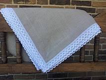 Ľanový obrus Traditional
