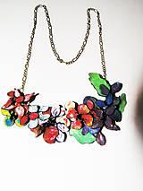 Náhrdelníky - color flowers - 4361588_