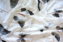 Šatky - Šatka Diamond White - 4361569_