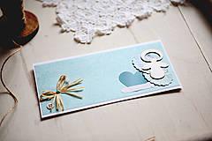 Papiernictvo - Otváracia pohľadnica - k narodeniu chlapčeka #1 - 4362867_