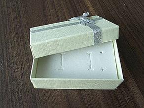 Obalový materiál - Darčeková krabička Cream - 4361457_