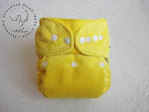 Detské doplnky - Slnečné páperie - MinkyPUL Kapsovka (veľ. S-M-L) + vkladačka - 4363669_