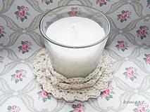 Svietidlá a sviečky - Sviečka v kvete - 4367683_