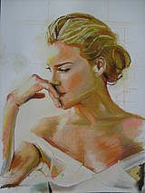 Obrazy - portrety - 4368389_