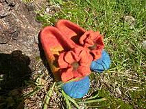 Obuv - Dievcenske papucky velkokvete - 4370205_