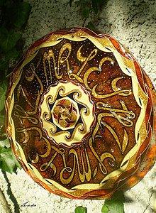 Dekorácie - Mandala..Symbolika v Písmenkách - 4371093_