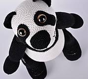 Návody a literatúra - Háčkovaný panda Standa - návod - 4371913_