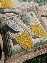 Úžitkový textil - Home is where our story begins...vankúš No.1 - 4375248_