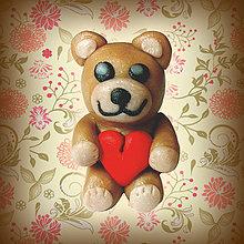 Drobnosti - Tučný macko s dobrým srdcom - 4372408_