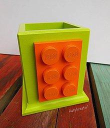 Krabičky - lego ceruznik - 4376390_