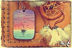 Náhrdelníky - Amulet - Sedem Albatrosov - 4379082_