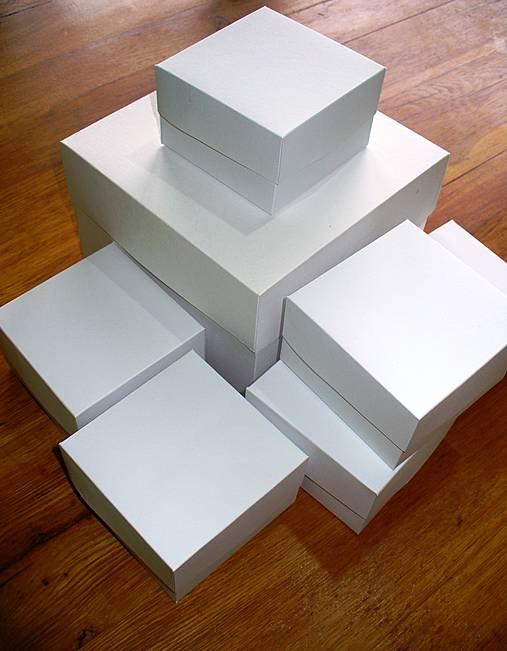krabičky na Vaše želanie/ polovičné veko