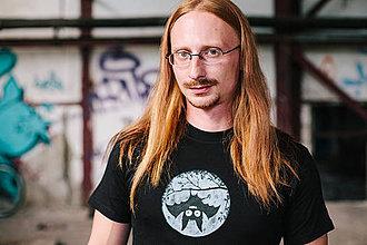 Oblečenie - Pánske tričko - Hanging Bat - 4377990_