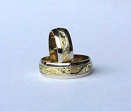 Prstene - barokový sen - 4376711_