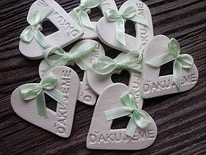 Darčeky pre svadobčanov - darček pre hostí / ďakujeme - 4378194_