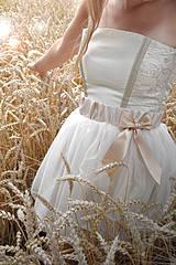 Sukne - suknička s mašľou - 4379392_
