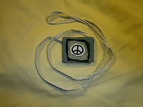 Kabelky - Vrecúško na amulet - Hippie - 4381255_