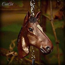 Kľúčenky - Prívesok podľa fotografie koňa - 4382281_