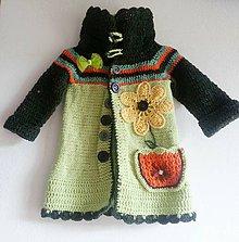 Detské oblečenie - Zelena jesen-svetricek :-D - 4384503_