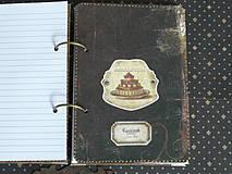 Papiernictvo - Luxusný receptár na chalupu ♥ č 1 - 4386110_