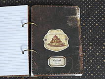 Papiernictvo - Luxusný receptár na chalupu ♥ č 1 - 4386112_