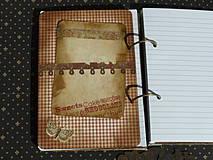 Papiernictvo - Luxusný receptár na chalupu ♥ č 1 - 4386114_