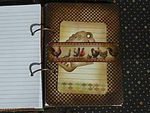 Papiernictvo - Luxusný receptár na chalupu ♥ č 1 - 4386116_