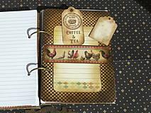 Papiernictvo - Luxusný receptár na chalupu ♥ č 1 - 4386117_
