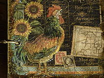 Papiernictvo - Luxusný receptár na chalupu ♥ č 1 - 4386124_