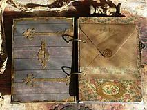 Papiernictvo - Luxusný receptár na chalupu ♥ č 1 - 4386130_