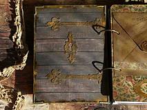 Papiernictvo - Luxusný receptár na chalupu ♥ č 1 - 4386131_