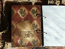 Papiernictvo - Luxusný receptár na chalupu ♥ č 1 - 4386132_