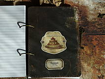 Papiernictvo - Luxusný receptár na chalupu ♥ č 1 - 4386133_