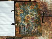Papiernictvo - Luxusný receptár na chalupu ♥ č 1 - 4386136_
