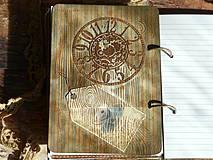 Papiernictvo - Luxusný receptár na chalupu ♥ č 1 - 4386137_