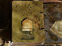 Papiernictvo - Luxusný receptár na chalupu ♥ č 1 - 4386139_