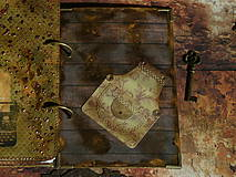Papiernictvo - Luxusný receptár na chalupu ♥ č 1 - 4386140_