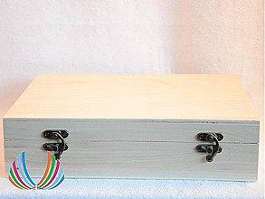 Polotovary - Krabica veľká s ant.uzáverom, ihneď - 4384345_