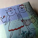 Úžitkový textil - MŮJ s MOJŮ ;o) - polštář - 4389826_
