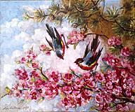 - Vtáčiky na čerešni - na želanie - 4391181_