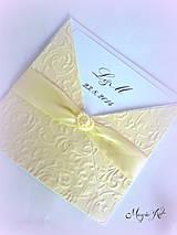 """Papiernictvo - Ďakovné kartičky pre svadobných hostí """"Amor a la Elegance"""" II. - 4395125_"""