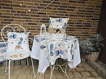 Úžitkový textil - Ľanový obrus Brise de Mer - 4395294_