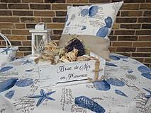 Úžitkový textil - Ľanový obrus Brise de Mer - 4395295_