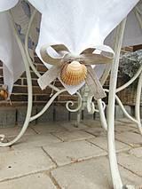 Úžitkový textil - Ľanový obrus Brise de Mer - 4395298_
