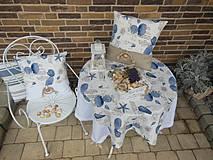 Úžitkový textil - Ľanový obrus Brise de Mer - 4395299_