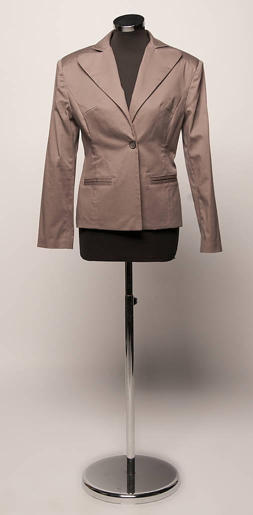 30f58e2a1d5e Sako s klopovým golierom   GattoNero - SAShE.sk - Handmade Kabáty
