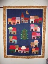 Vianoce - Domčekový adventný kalendár. - 4396822_