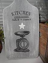 - Drevený lopár do kuchyne - 4398937_