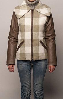 Kabáty - Dvojfarebná bunda - 4404880_