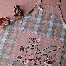 Detské oblečenie - VEVEŘIČKA :o= - dětská zástěrka - 4402736_